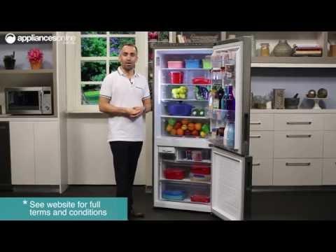 LG GB-450UPLX 450L Bottom Mount Fridge Overview - Appliances Online