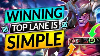 WINNING TOP LANE IS SIMPLE - EASY CLIMB Tips Before End of Season - LoL Aatrox Guide