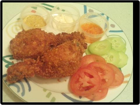 Poulet facon KFC fait maison