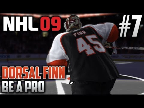 NHL 09 Retro Be a Pro | Dorsal Finn (Goalie) | EP7 | LOOKING FOR THAT FIRST NHL WIN!