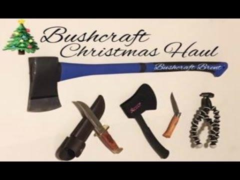 Bushcraft Christmas Haul | Bushcraft Brent