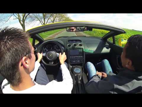 GoPro: Driving Lamborghini Gallardo Spyder