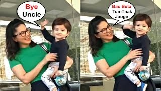 Sunny Leone Son Noah Couldn't Stop Saying Bye To Media