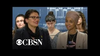 Rashida Tlaib and Ilhan Omar hold press conference after being barred from Israel