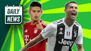 Juve want James Rodriguez, 'LAZY' Lukaku + Liverpool's title hopes OVER? ► Onefootball Daily News