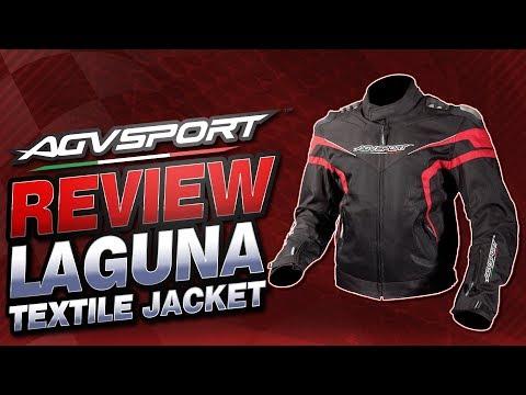 AGV Sport Laguna Vented Textile Jacket Review | Sportbike Track Gear