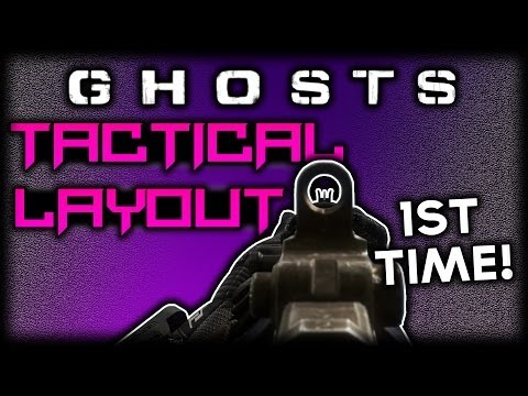 CoD Ghosts: TACTICAL LAYOUT! (Call Of Duty Ghost Multiplayer Gameplay)