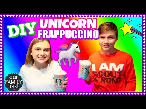 STARBUCKS UNICORN FRAPPUCCINO ~ HOW TO MAKE YOUR OWN AT HOME!