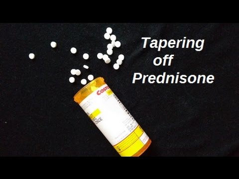 Tapering off Prednisone