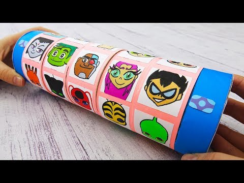 Teen Titans Go! Gift Box with a Secret Code | DIY Criptex Surprise Cartoon Network Style