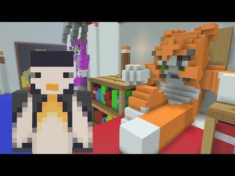 Minecraft XBOX Hunger Games - Stampy's Bedroom