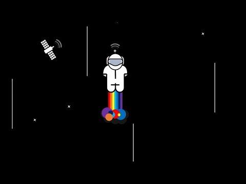 Rainbow Rocket Man Animation Preview Video | Microsoft PowerPoint 2016 | The Teacher