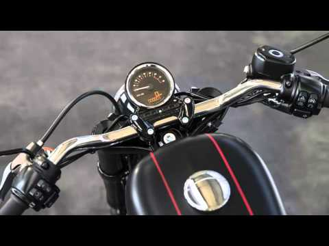 Harley Davidson new Roadster - accessories 2017