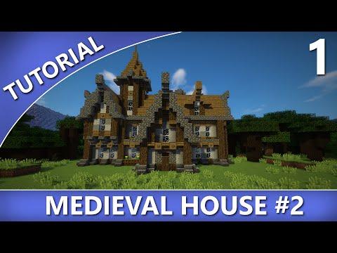 Minecraft - Medieval House #2 Tutorial [Part 1/2]