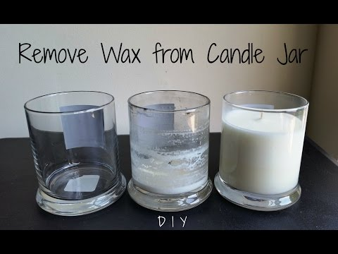 How to Remove Wax from a Candle Jar - 3 Ways