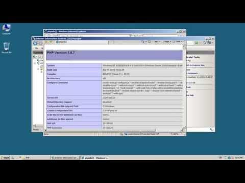 Server2008 IIS7 PHP 5.6.7 Installation