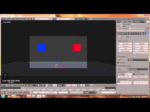 Blender Bullet physics in 5 minutes