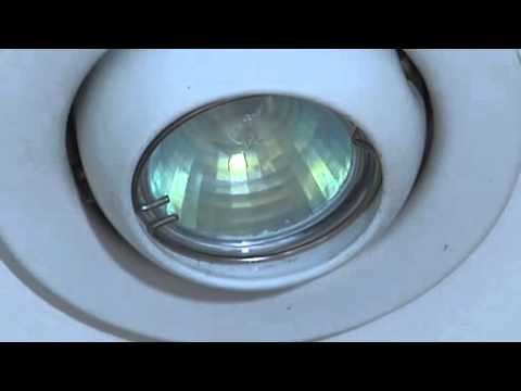 How to change a halogen light bulb