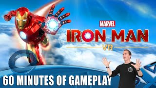Marvel's Iron Man VR - 60 Minutes of PS4 Gameplay