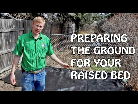 Preparing The Ground For Your Raised Bed