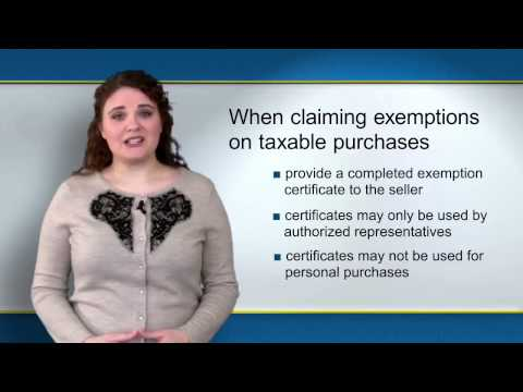 NYS Sales Tax Exempt Organizations