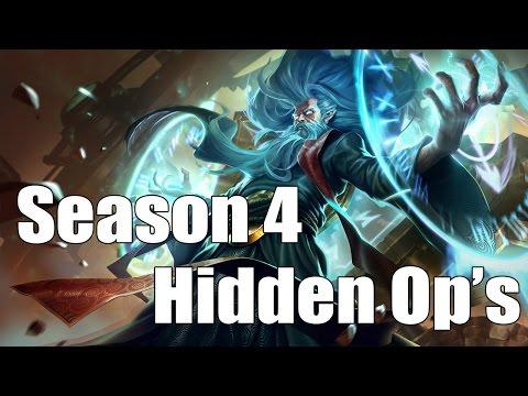Hidden OP Champions [Season 4: League of Legends]