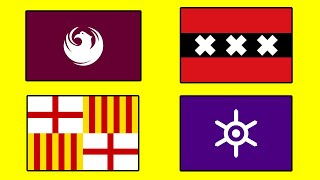 BEST CITY FLAGS in the World - Top 100