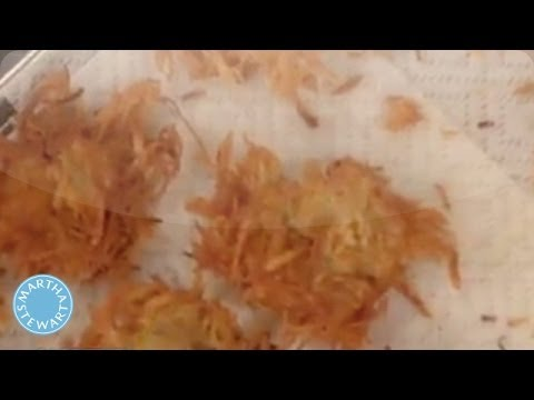 Potato Latkes Recipe for Hanukkah- Martha Stewart