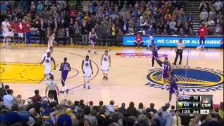 Klay Thompson 37pt 3rd Quarter Csn Bay Area Feed 1-23-15