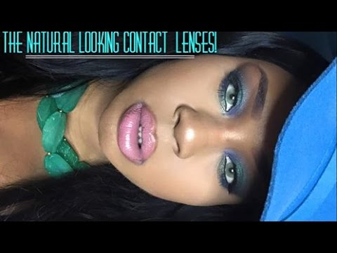 Most Natural Looking Colored Contact Lenses| Colored contacts for Brown Eyes