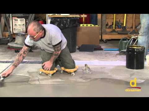 How to install concrete overlays. micro toppings / skim coats - Part 2