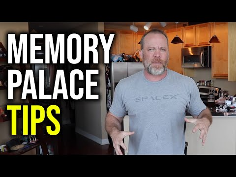 Memory Palace in Small House // Memorize Large Amounts of Data Fast