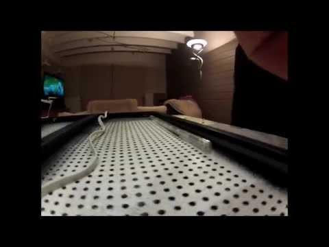 NERF: How to make a LED backlit Nerfgun rack