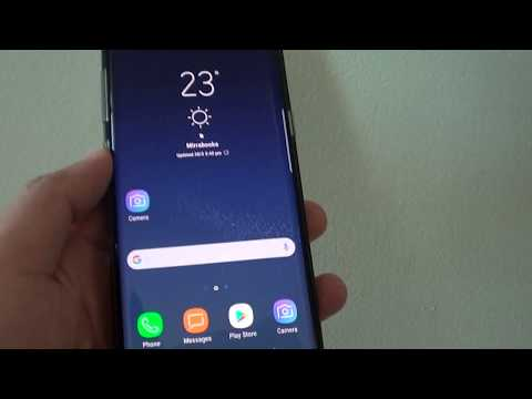 Samsung Galaxy S8: How to Find the IP Address