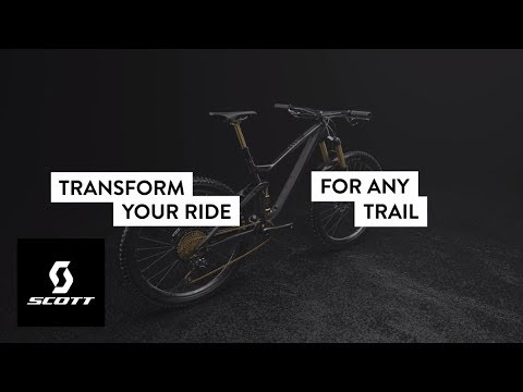 The SCOTT TwinLoc Suspension System - 3 Bikes in One