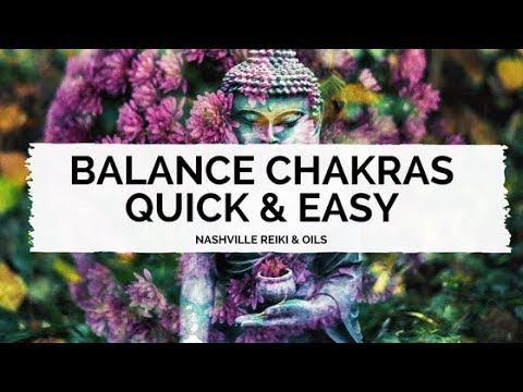 Balance Chakras Quick & Easy With a Pendulum & Crystal - Nashville Reiki
