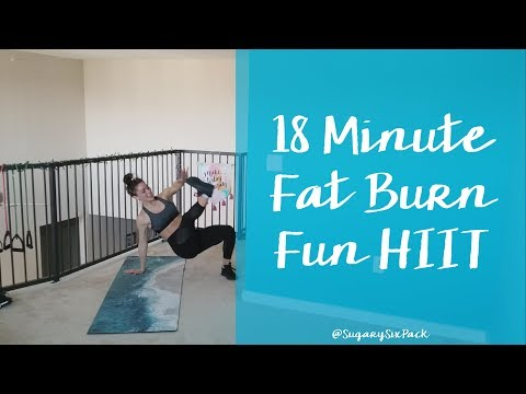 18 Min Fat Burn Fun HIIT