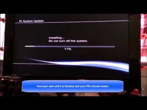How To Jailbreak PS3 4 65,4 60 & Below With USB