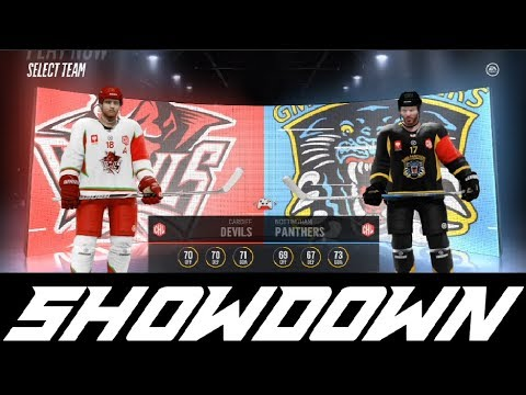 Showdown - Cardiff Devils vs Nottingham Panthers (NHL 18 Play Now)
