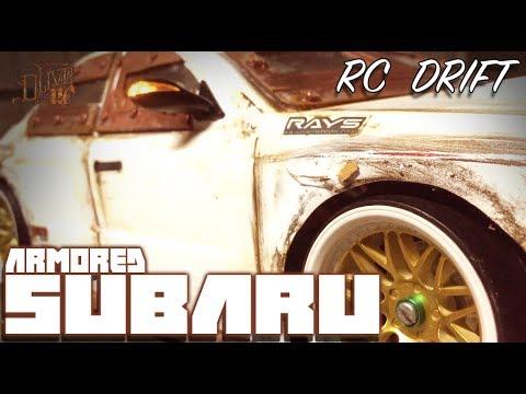 RC DRIFT CAR - ARMORED SUBARU