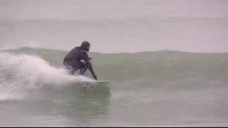 Goomer, Surfing Nantasket Beach Hull, MA, Feb 2016