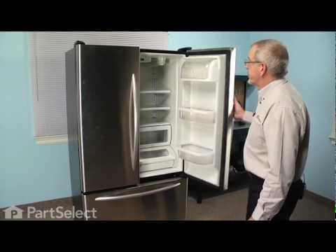 Refrigerator Repair - Replacing the Ice and Water Filter (Whirlpool Part # 4396395)