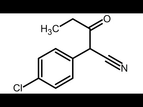 REUPLOAD - Make 2-(p-chlorophenyl)-3-oxopentanenitrile - Step 5 in Pyrimethamine Synthesis