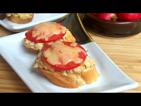 How to Make Spicy Tuna Melts - Easy Snack Recipe