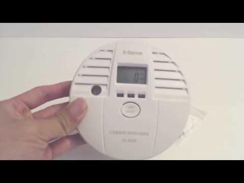X-sense Carbon Monoxide CO Detector Review
