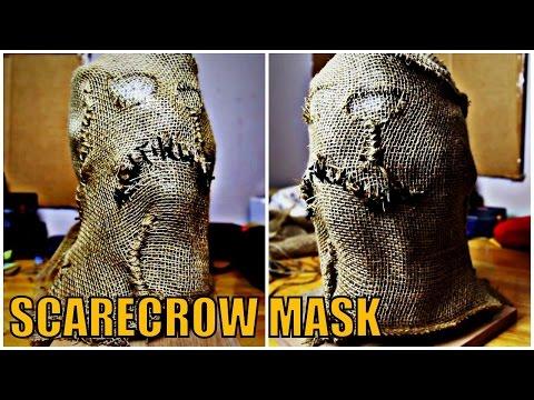 How To DIY Cosplay/Propmaking: SCARECROW MASK (BATMAN)