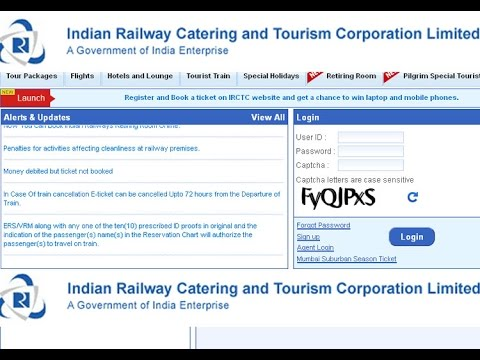 How to create irctc account 2014 New System