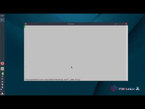 How to install Backdrop 1.10.1 on MX Linux 17