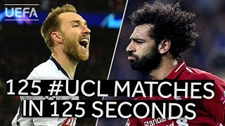 One second of every UEFA Champions League 2018/19 match