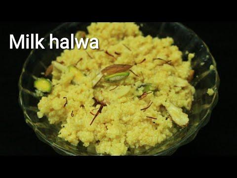 Milk halwa recipe - Halwa recipe - Milk halwa - How to make milk halwa